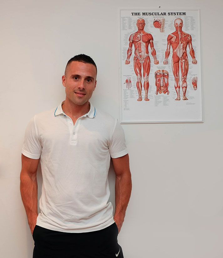 Pedro Olabarri Sports and Remedial Massage Therapist